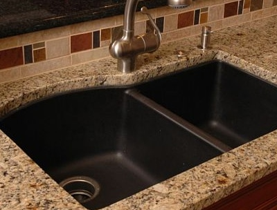 quartz composite kitchen sink